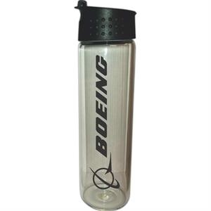 18 oz. Island Glass Water Bottle with Flip Top