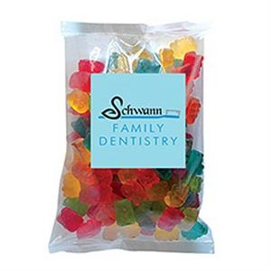Gummy Bears in Large Label Pack