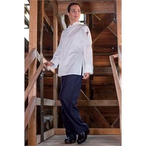 Women's Executive Chef Coat - White