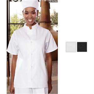 Mandarin Collar Utility Shirt- White