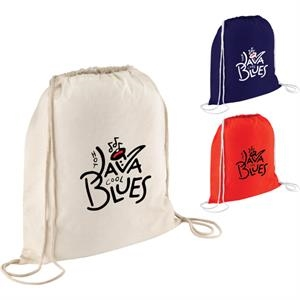 4oz Cotton Drawstring Bag