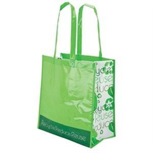 Laminated Shopper Tote Bag
