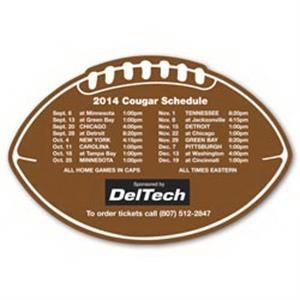 Schedule Football Magnet