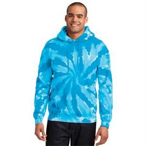 Port & Company Tie-Dye Pullover Hooded Sweatshirt.