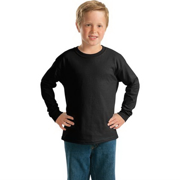 Gildan - Youth Ultra Cotton Long Sleeve T-Shirt.