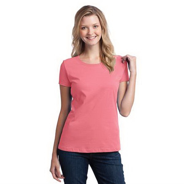 Fruit of the Loom Ladies HD Cotton 100% Cotton T-Shirt.