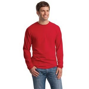 Hanes Beefy-T - 100% Cotton Long Sleeve T-Shirt.