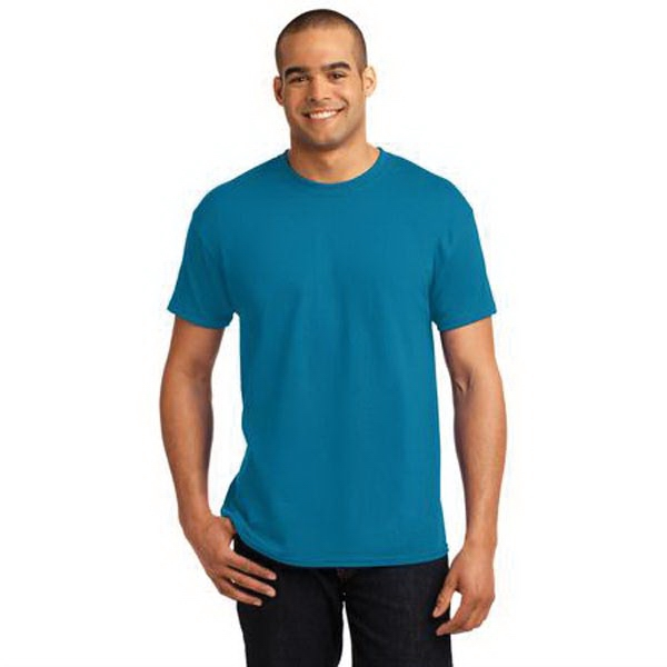 Hanes - EcoSmart 50/50 Cotton/Poly T-Shirt.
