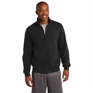 Sport-Tek Tall Full-Zip Sweatshirt.