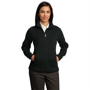 Red House - Ladies Sweater Fleece Full-Zip Jacket.