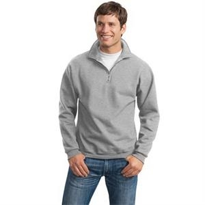 JERZEES SUPER SWEATS NuBlend - 1/4-Zip Sweatshirt with Ca...