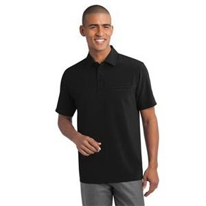 Port Authority Ultra Stretch Pocket Polo.