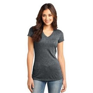 District - Juniors Microburn V-Neck Tee.