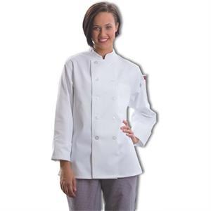 Women's Chef Coat - Black
