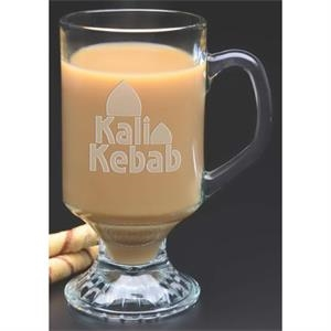 Irish Glass Coffee Mug