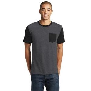District Young Mens Very Important Tee with Contrast Slee...