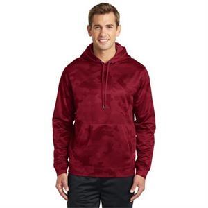 Sport-Tek Sport-Wick CamoHex Fleece Hooded Pullover.