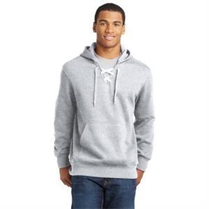 Sport-Tek Lace Up Pullover Hooded Sweatshirt.