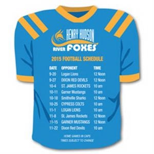 Schedule Team Jersey Magnet
