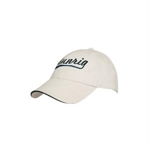 Brushed Cotton Cap w/ Sandwich Trim (Embroidered)