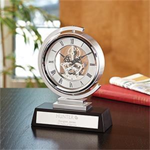 Undulate Skeleton Clock