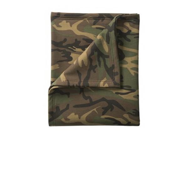 Port & Company Core Fleece Camo Sweatshirt Blanket.