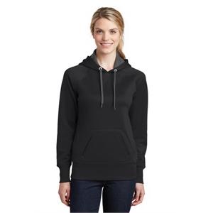 Sport-Tek Ladies Tech Fleece Hooded Sweatshirt.