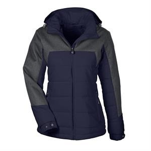 Ladies' Excursion Meridian Insulated Jacket with Melange ...