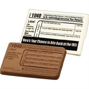 Mini IRS 1040 Chocolate bar in Printed Box