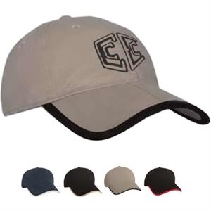 Constructed Brushed Cotton Fold-A-Bill Cap