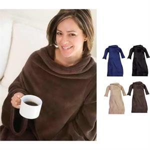 Deluxe Microplush Sleeved Blanket