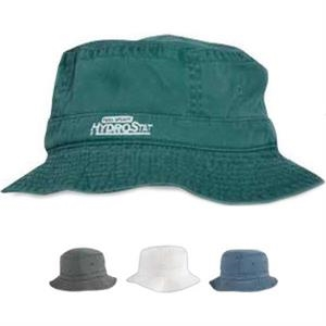 Pigment Dyed Cotton Washed Bucket Hat