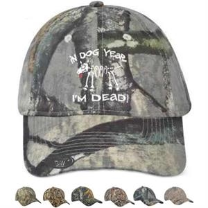 Mossy Oak Constructed Camouflage Cap