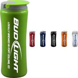 14 oz. Double Walled Tumbler with Flip Top Lid