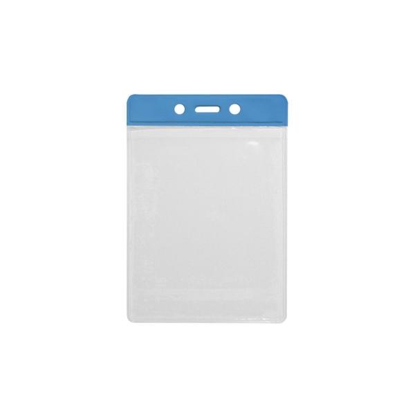 Vertical Jumbo Badge Holder - Translucent
