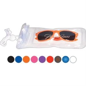 Fashion Sunglasses in a Water-Resistant Pouch