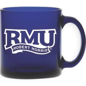 Midnight Blue Glass Coffee Mug