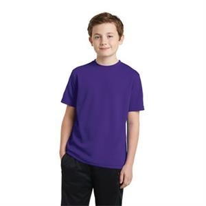 Sport-Tek Youth PosiCharge RacerMesh Tee.