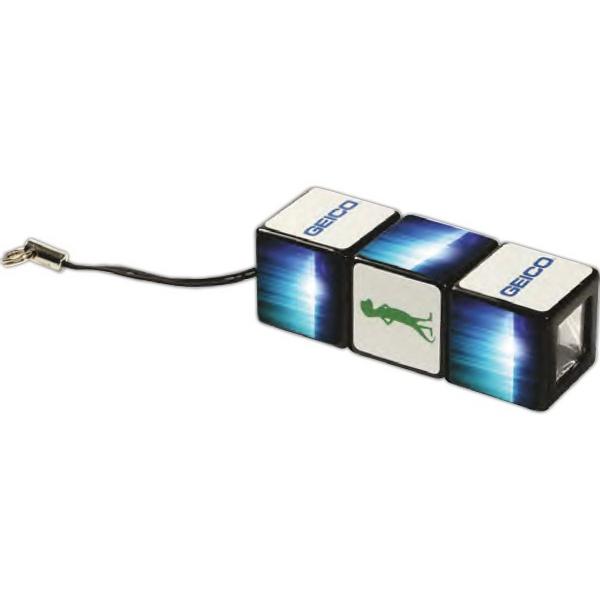 Custom Rubik's (R) Flashlight