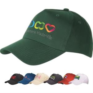 5 Panel Structured Cap