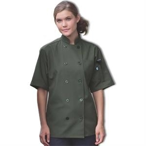 Short Sleeve Chef - White