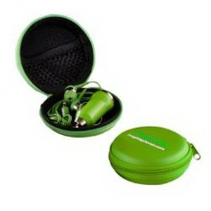 The Ear Bud Charger Kit - Green