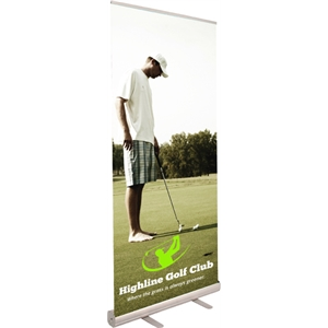 Economy Banner Retractable Stand -33