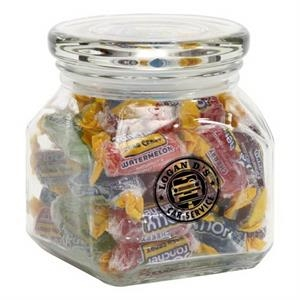 Jolly Ranchers in Small Glass Jar