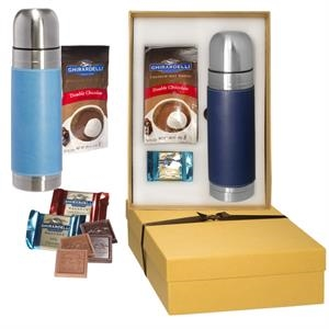 Ghirardelli® and Tuscany™ Thermos Gift Set