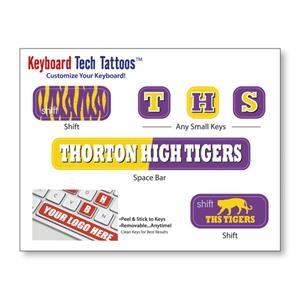 Keyboard Tech Tattoos (TM) (4 1/2