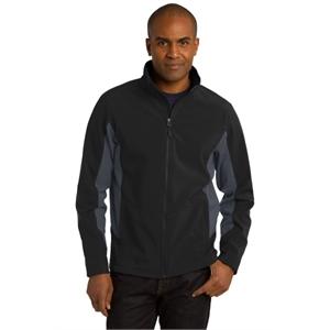 Port Authority Core Colorblock Soft Shell Jacket.