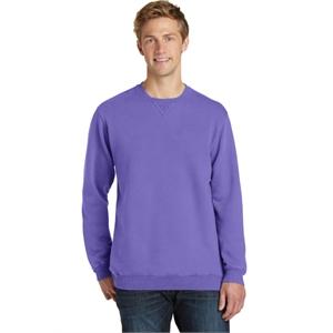 Port & Company Pigment-Dyed Crewneck Sweatshirt.