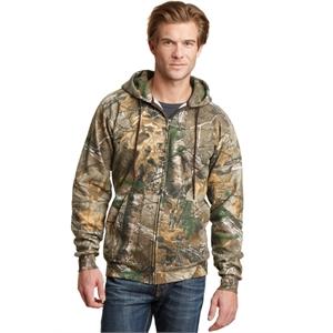 Russell Outdoors Realtree Full-Zip Hooded Sweatshirt.