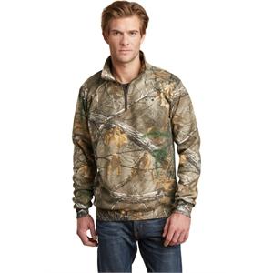 Russell Outdoors Realtree 1/4-Zip Sweatshirt.